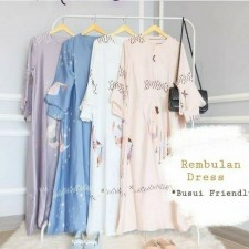 Aluna Rembulan Dress - Grey