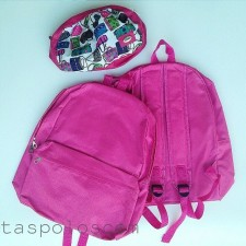 Canvasbag Large - Pink Tua