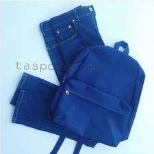 Canvasbag Small - Biru Dongker