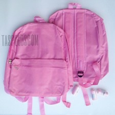 Canvasbag Large - Pink Muda